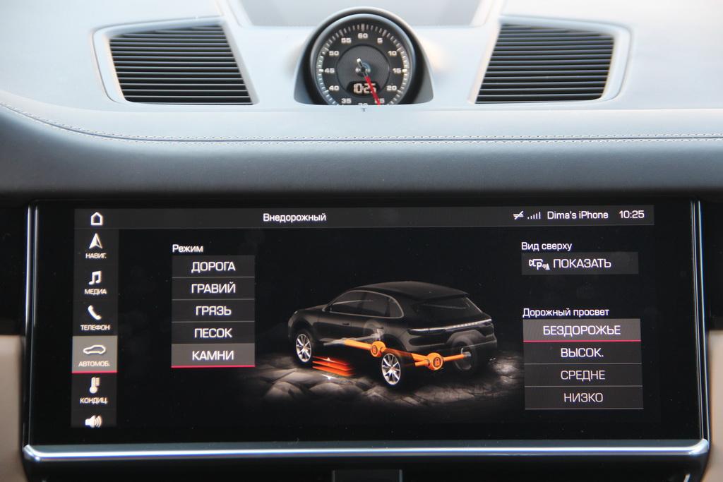 Porsche Advanced Cockpit Porsche Cayenne