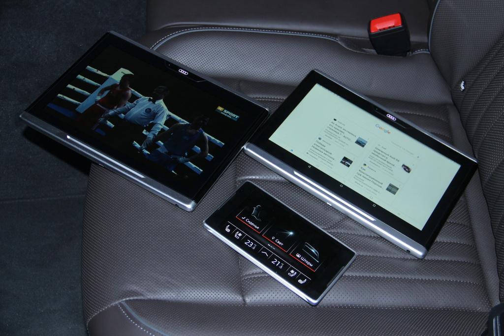 Планшеты Audi A8 L