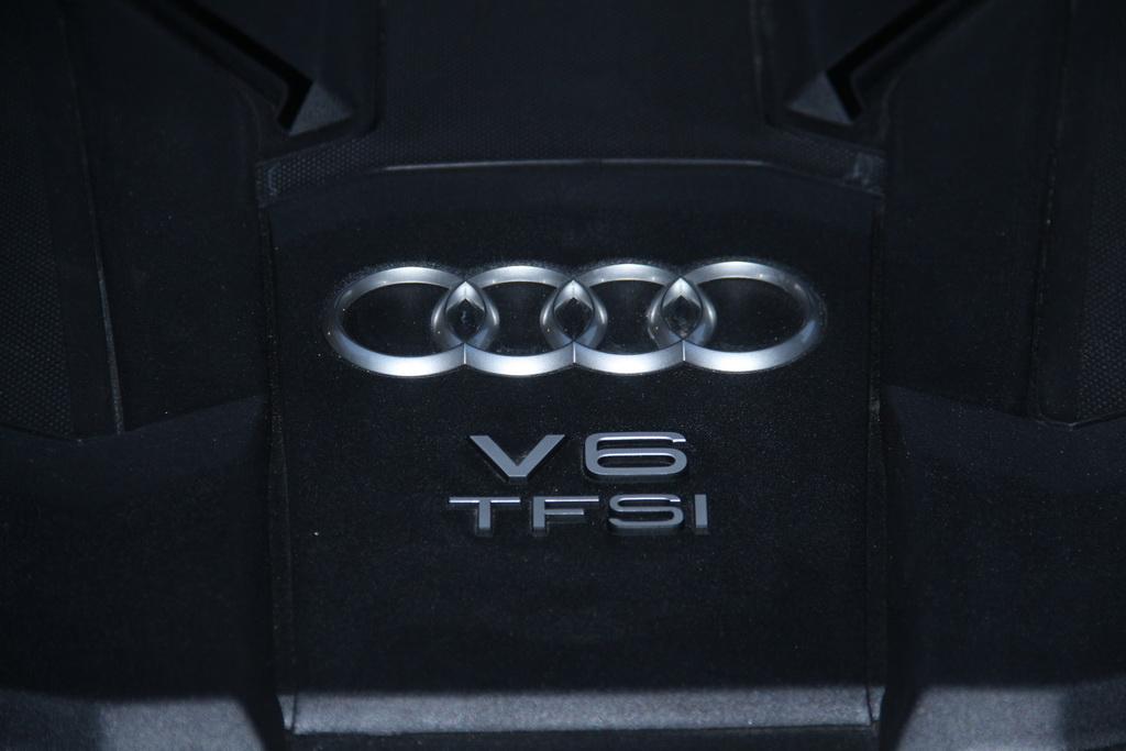 Мотор новой Audi A8 L