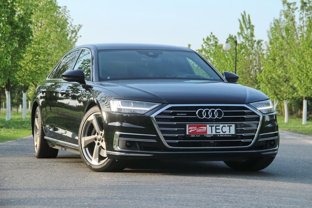 Внешность новой Audi A8 L