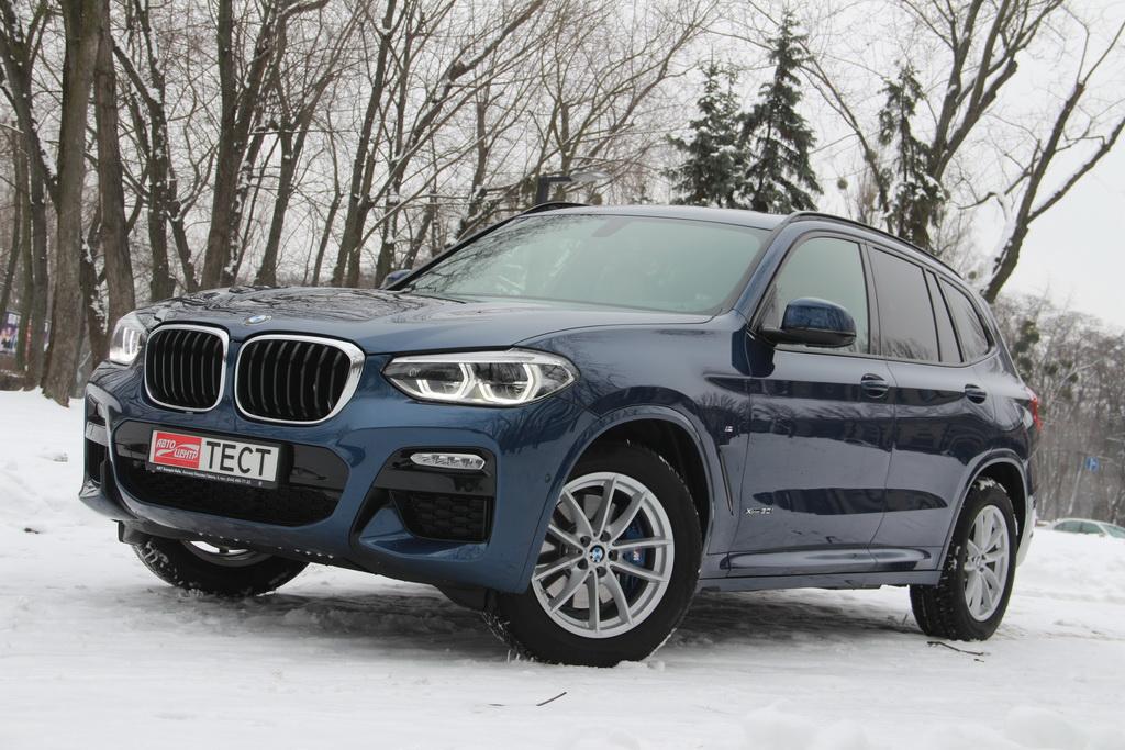 Внешность BMW X3 2018