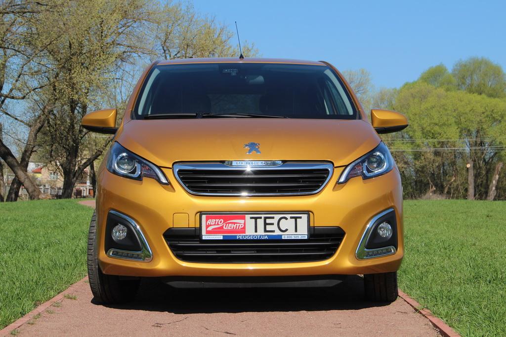 Внешность Peugeot 108