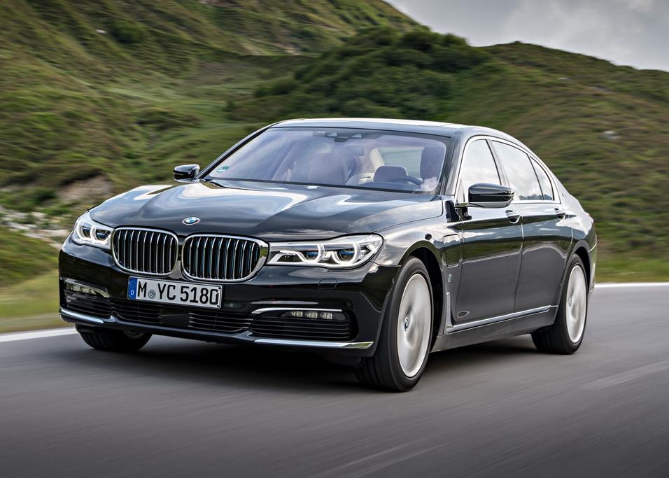внешность BMW 7 Серии L