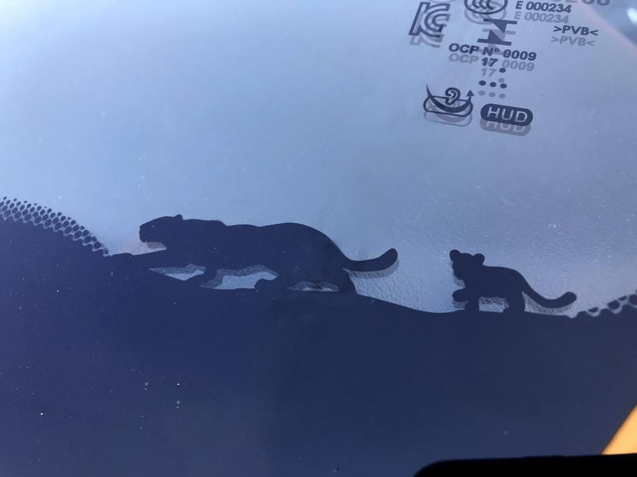 Лобовое стекло на Jaguar E-PACE
