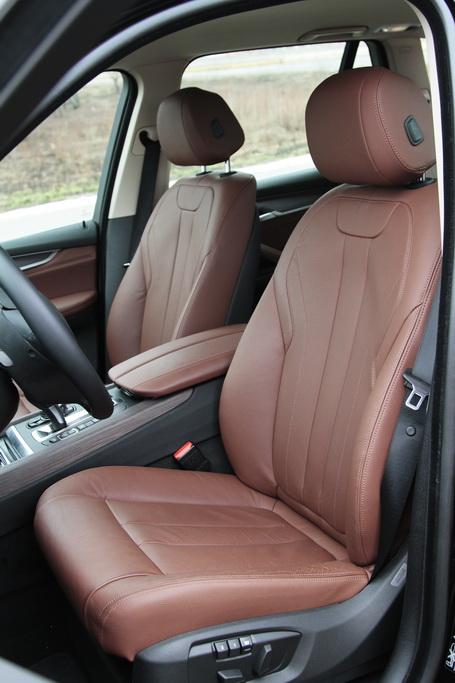 Кресло водителя BMW X5 (F15)
