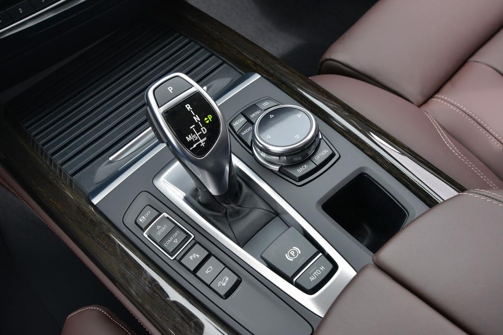Автомат в BMW X5 (F15)