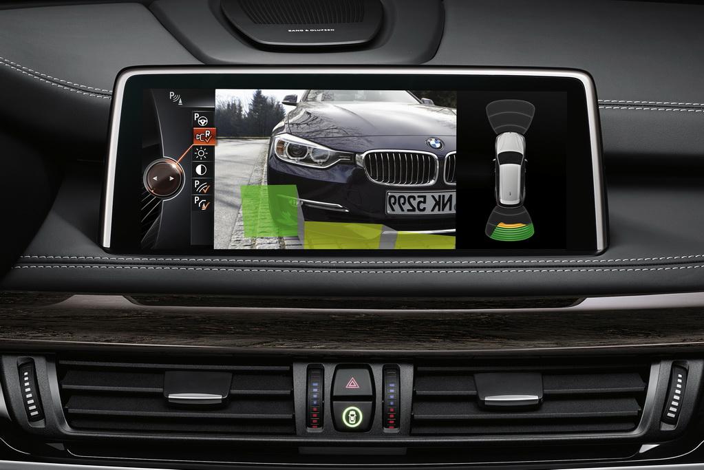 Камера заднего вида BMW X5 (F15)