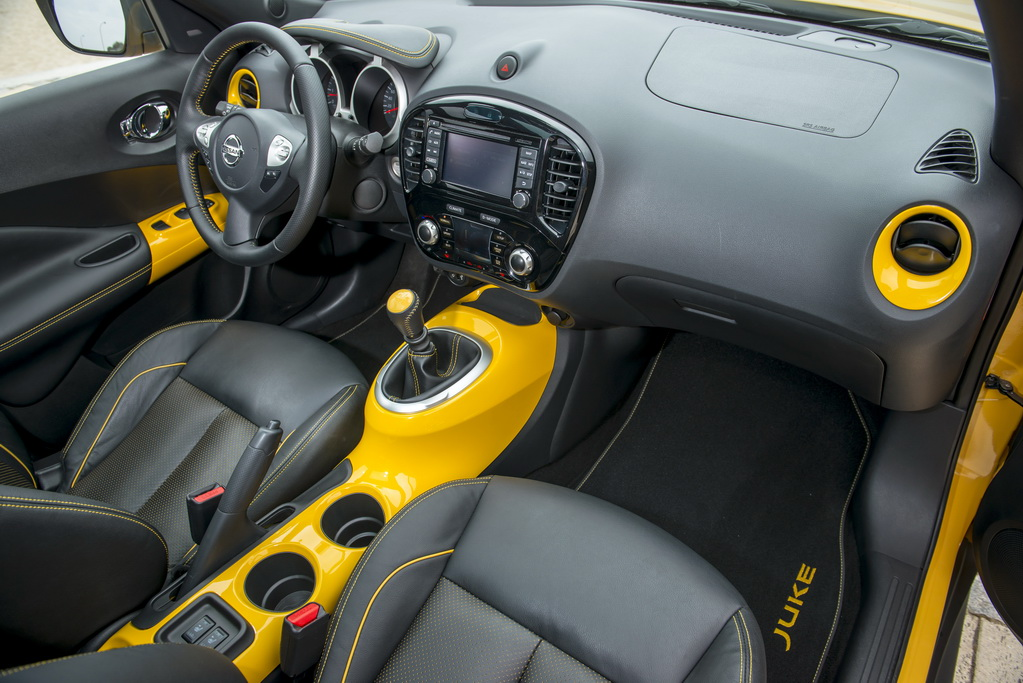 Салон Nissan Juke 2018