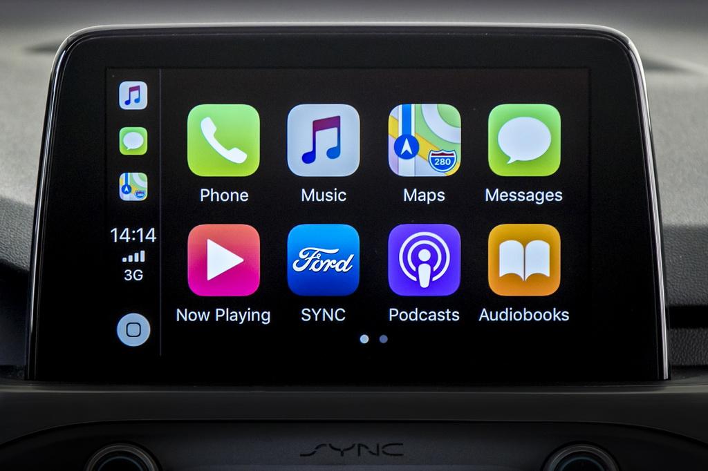 Apple CarPlay и Android Auto для Ford Focus 2018
