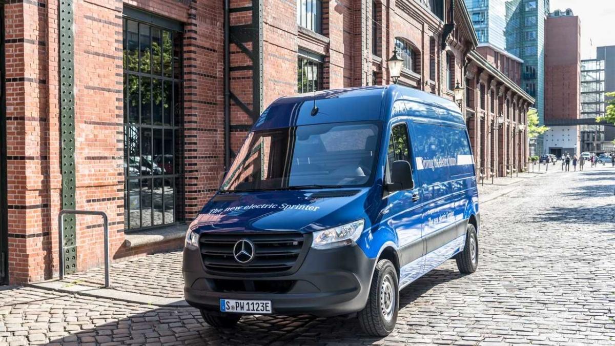 электромобили 2019-2020 - 2020 Mercedes-Benz eSprinter
