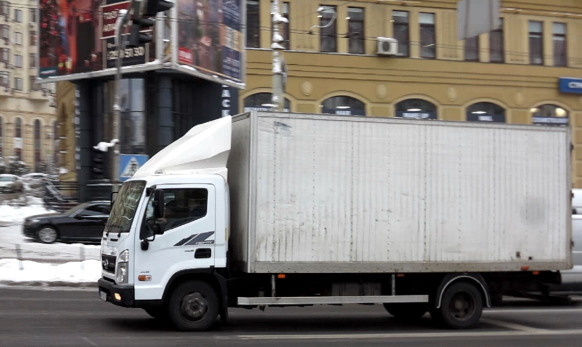 Hyundai EX8 Mighty на киевских дорогах