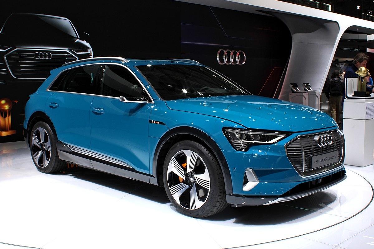 Зарядка Audi e-tron