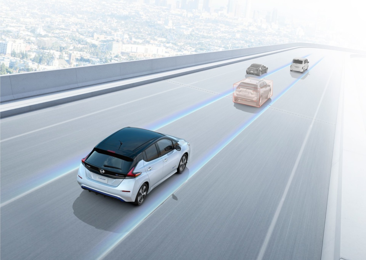 Автопилот Nissan Leaf e-plus 2-го уровня