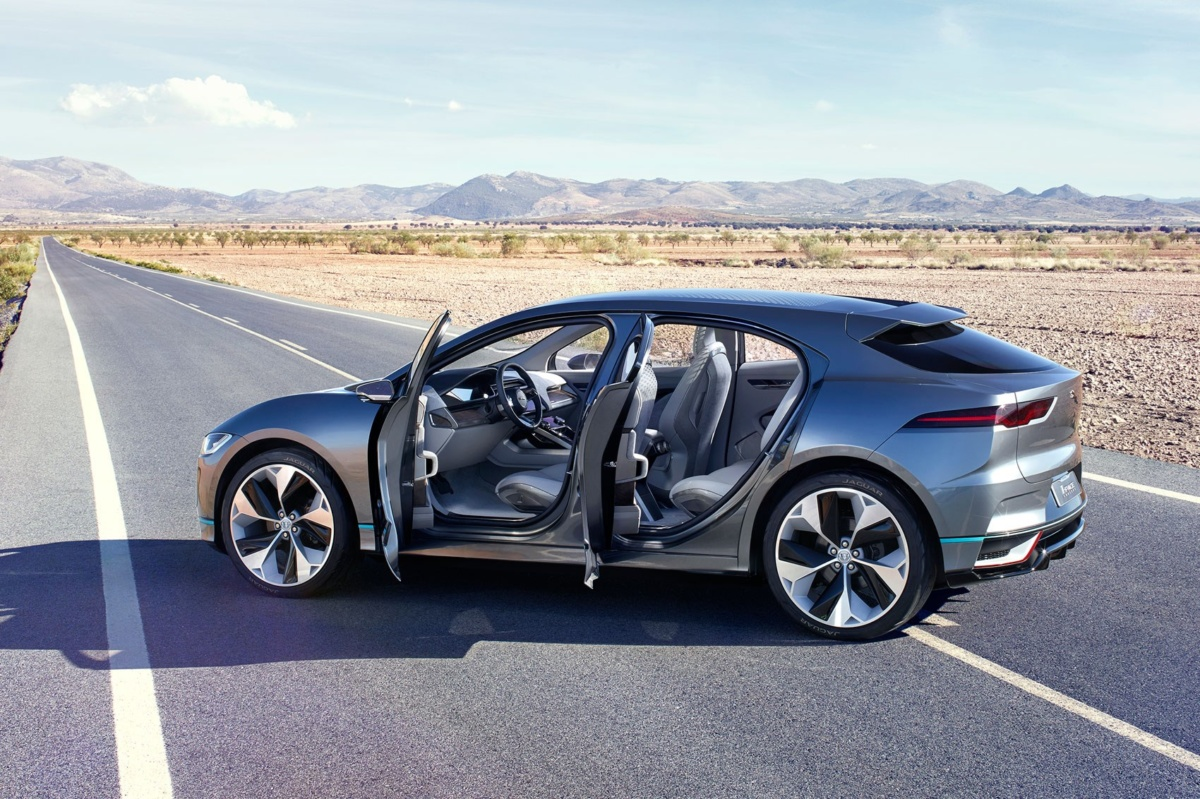 Зарядка Jaguar I-PACE