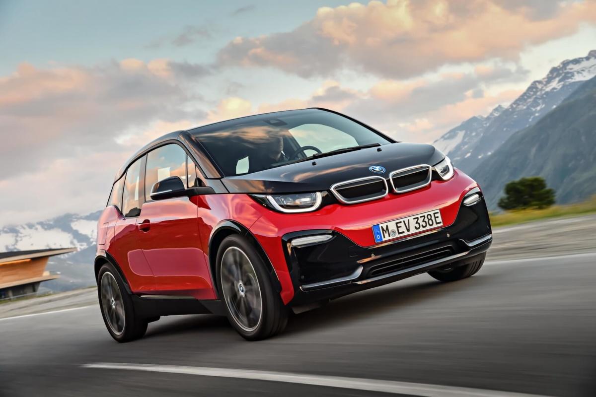 запас хода BMW i3s на холоде