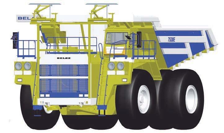 Дизель-троллейвоз на 240 тонн