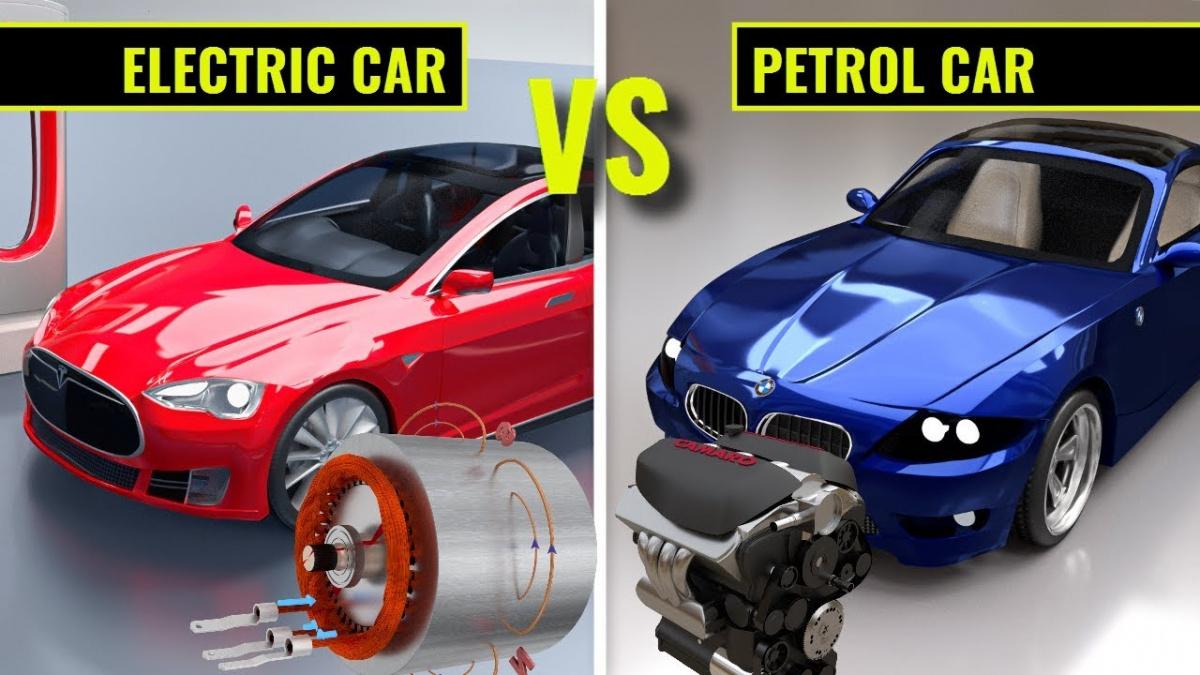 авто на ДВС против электромобилей