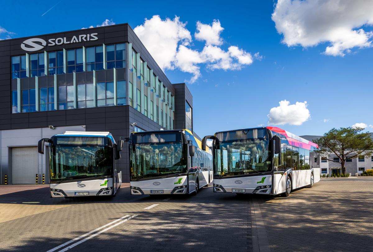 Автобусы Solaris
