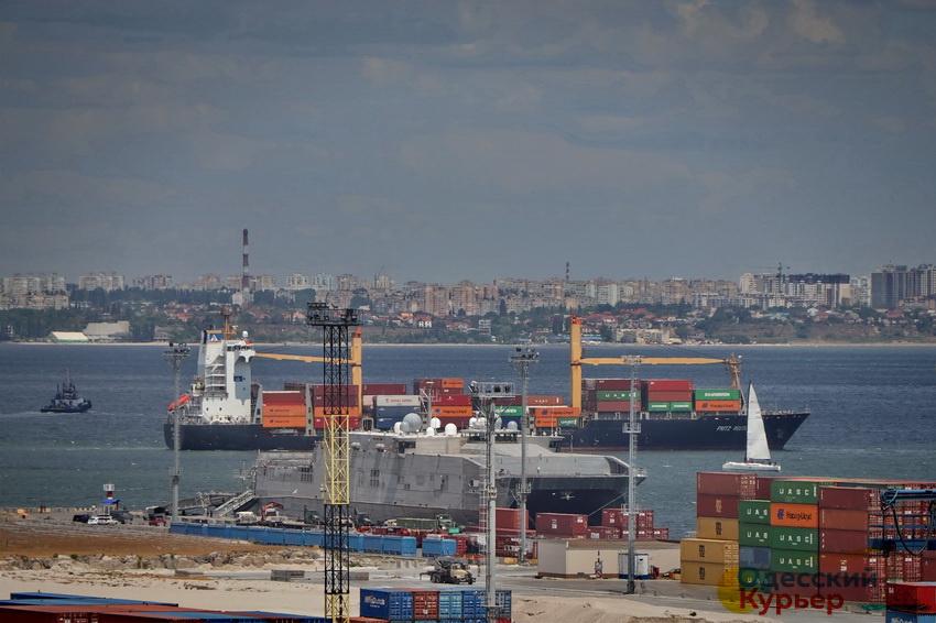 Скоростной катамаран ВМФ США - Yuma