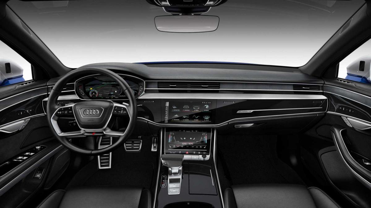 Audi S8 2020 салон