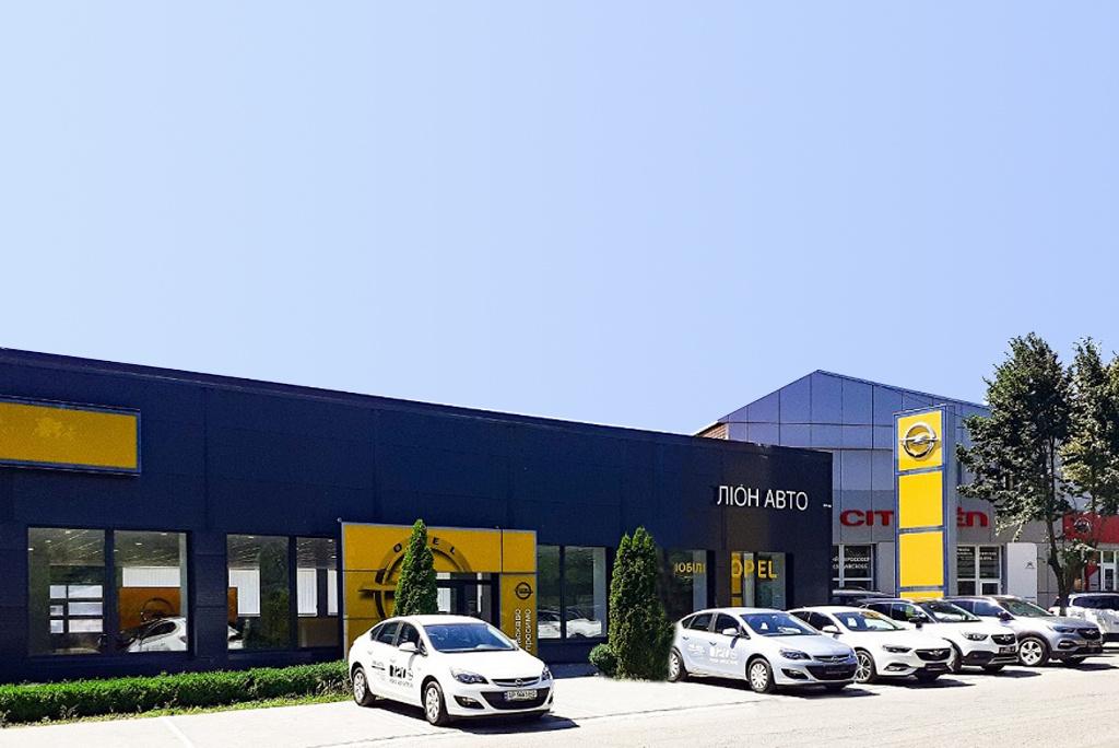 Opel in UA