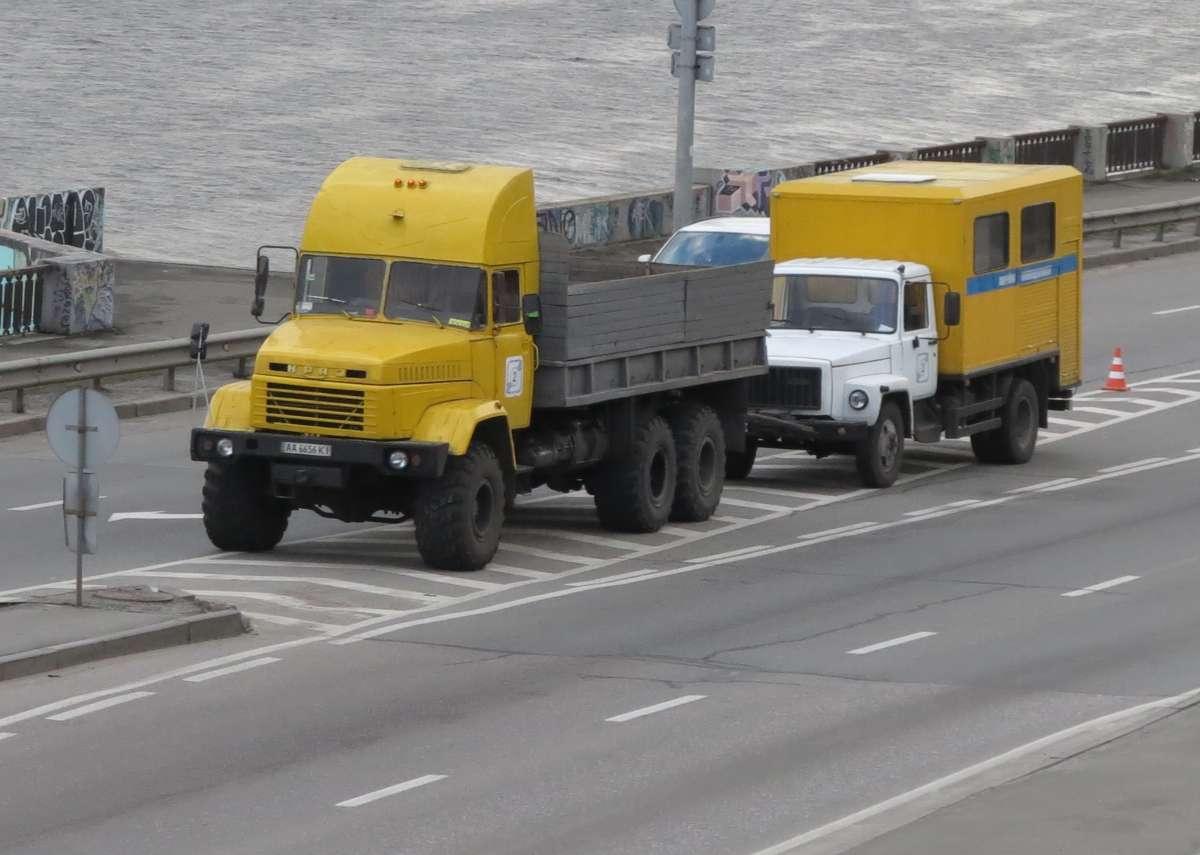 Вездеход КрАЗ-6322