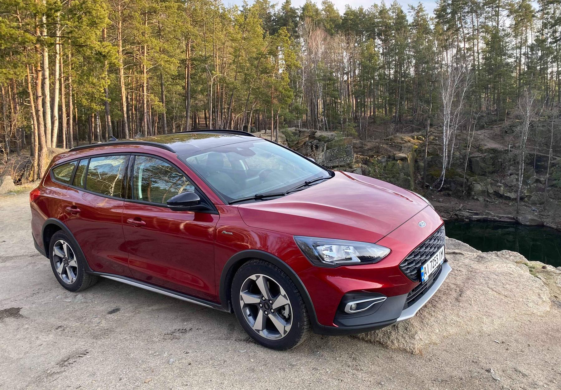 Тест Ford Focus Active Wagon: для любителей активного отдыха
