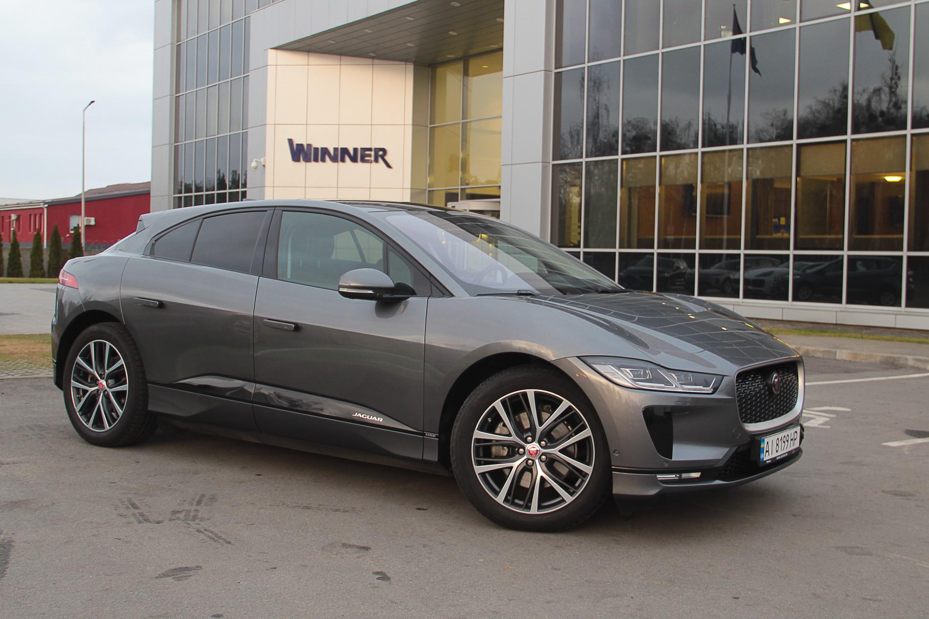 Тест Jaguar I-Pace: может ли удивить электрический премиум?