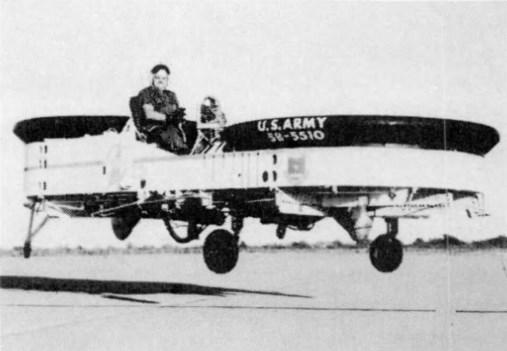 VZ-8 Airgeep (ранний вариант)