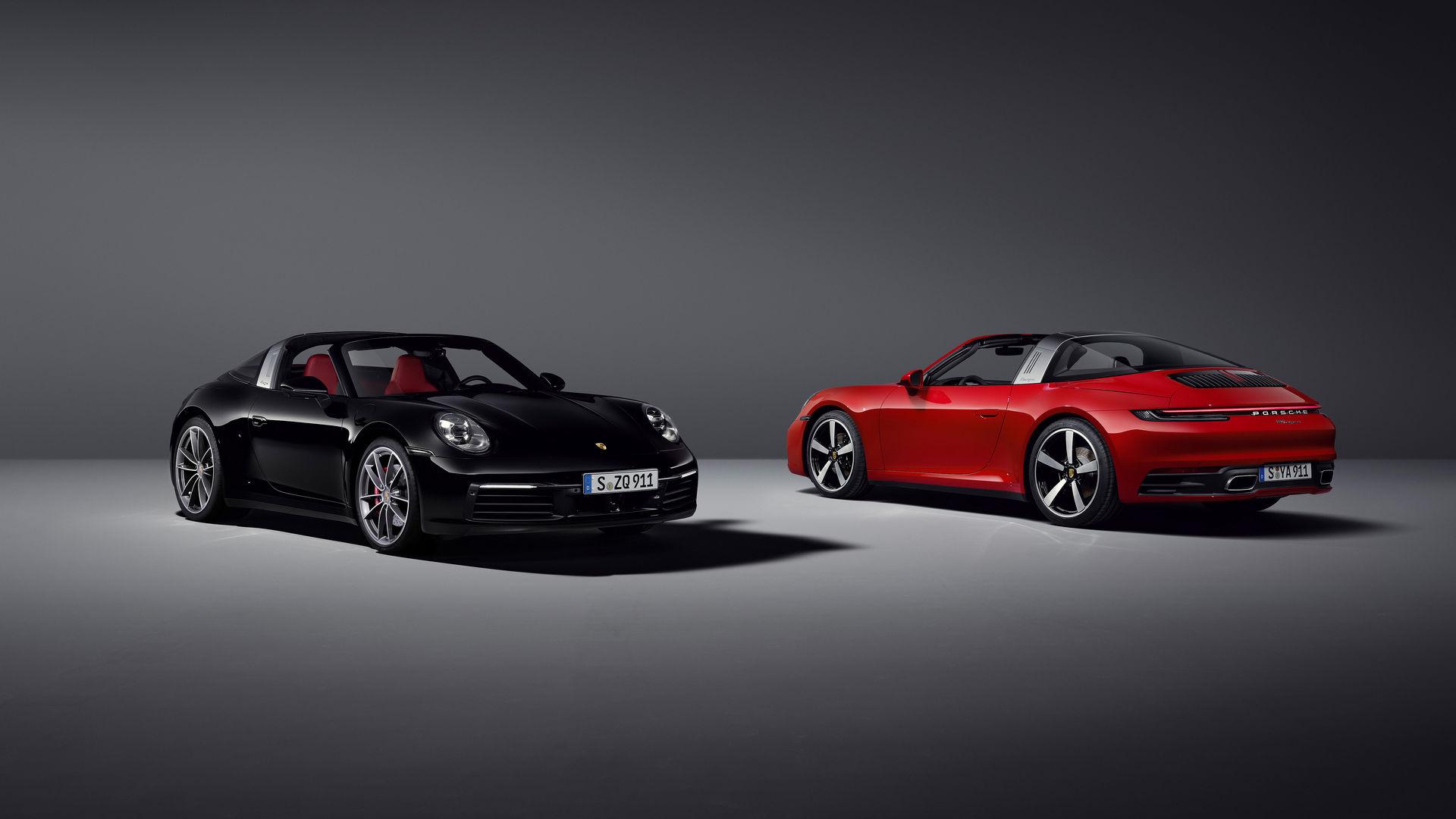 Porsche официально представил спорткары 911 Targa 4 и Targa 4S