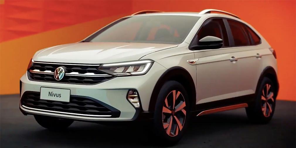 VW представил новый компактный кроссовер Nivus 2020