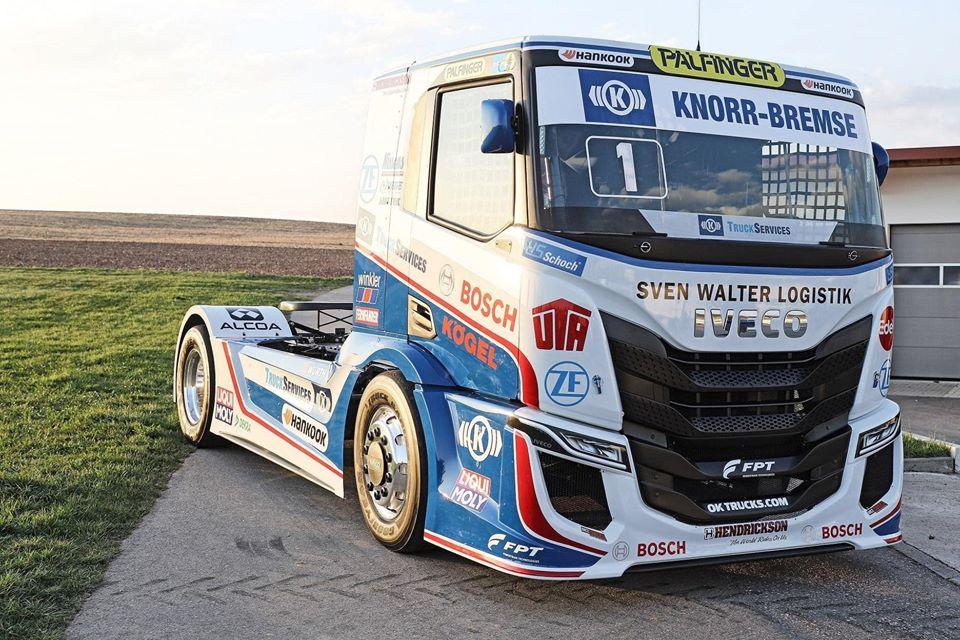 Гонки грузовиков – представлен новый болид IVECO для сезона 2020