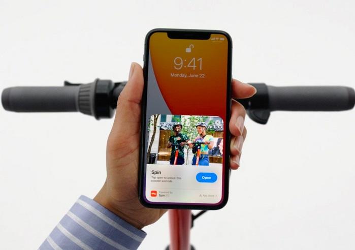 iPhone на iOS14 можно будет использовать как автомобильный ключ