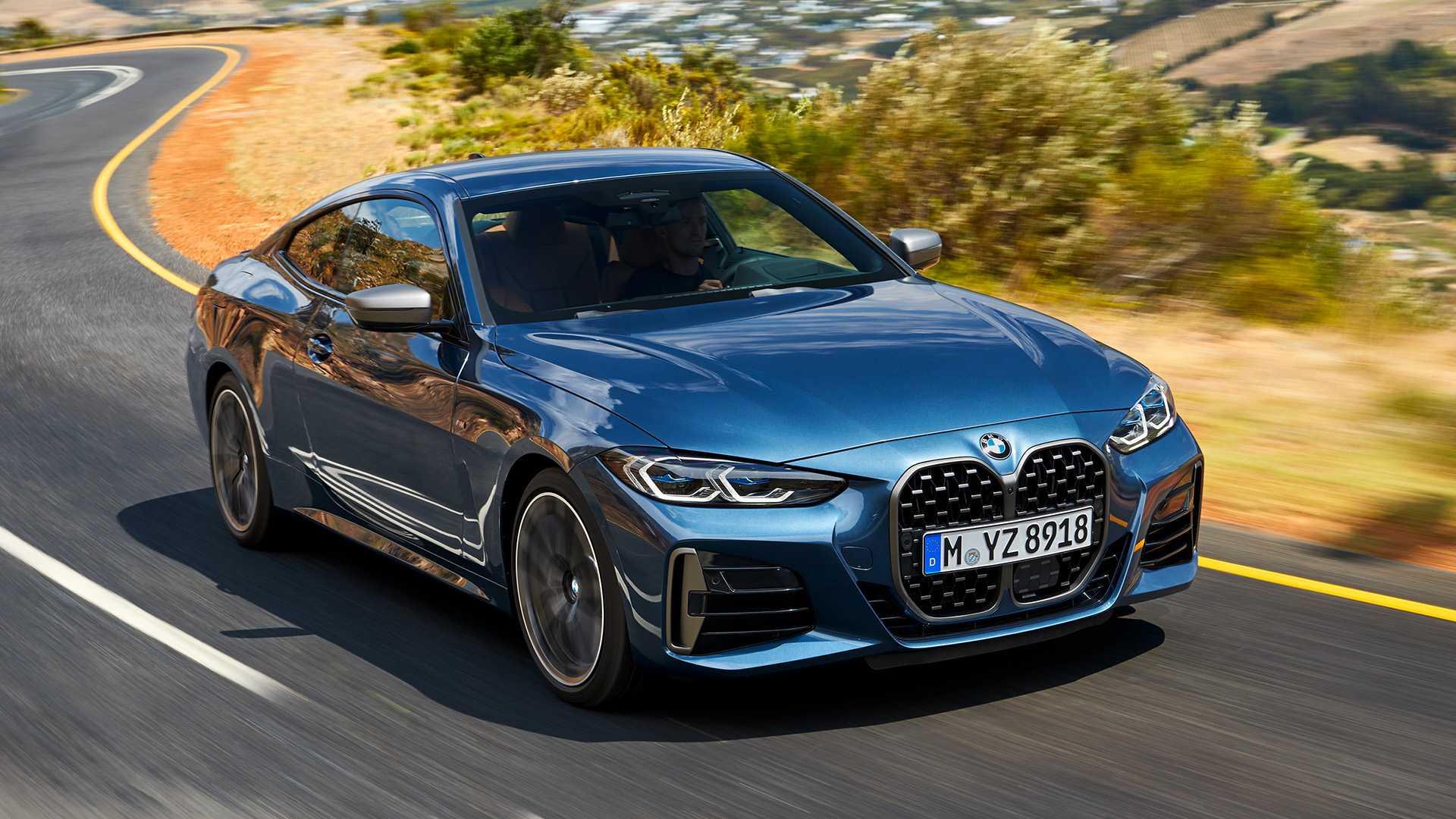 """BMW 4 Series 2021: величезні """"ніздрі"""" і новий двигун - Автоцентр.ua"""