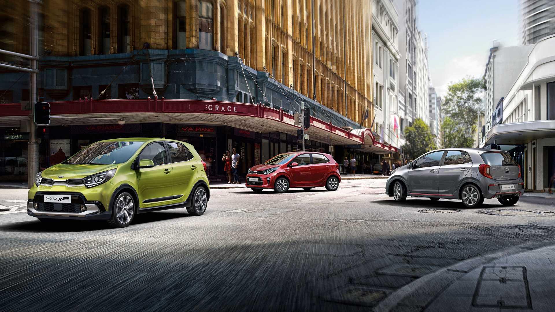 Новинка             Самая дешевая модель Kia получила продвинутое оснащение