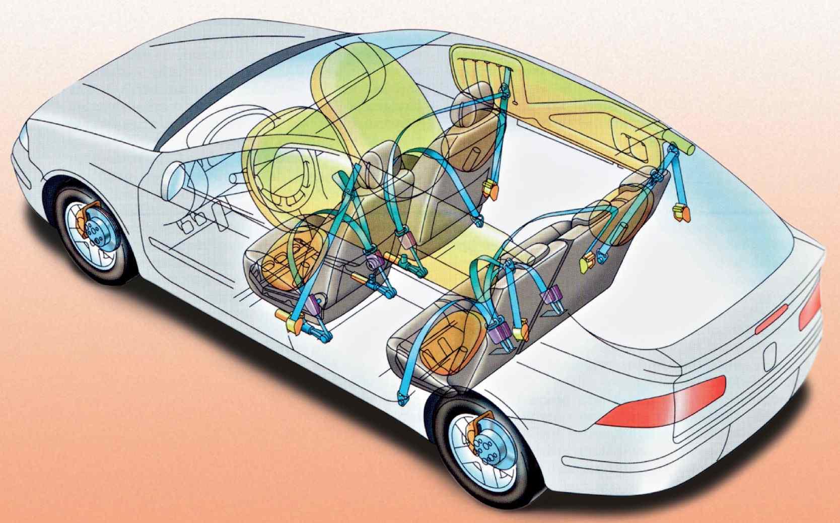 Разбираемся, из чего состоит безопасность современного автомобиля