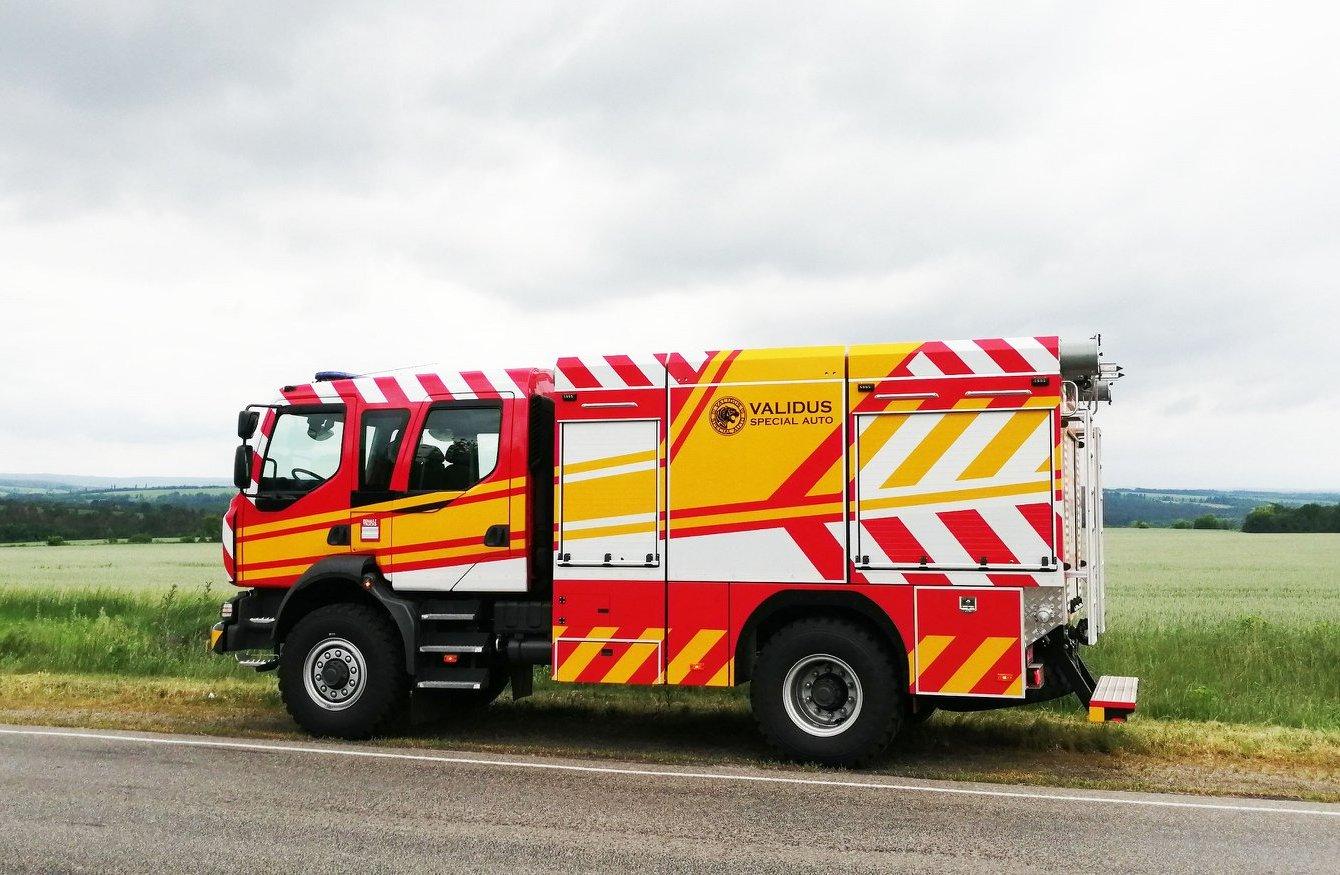 Пожарный автомобиль Validus Special Auto
