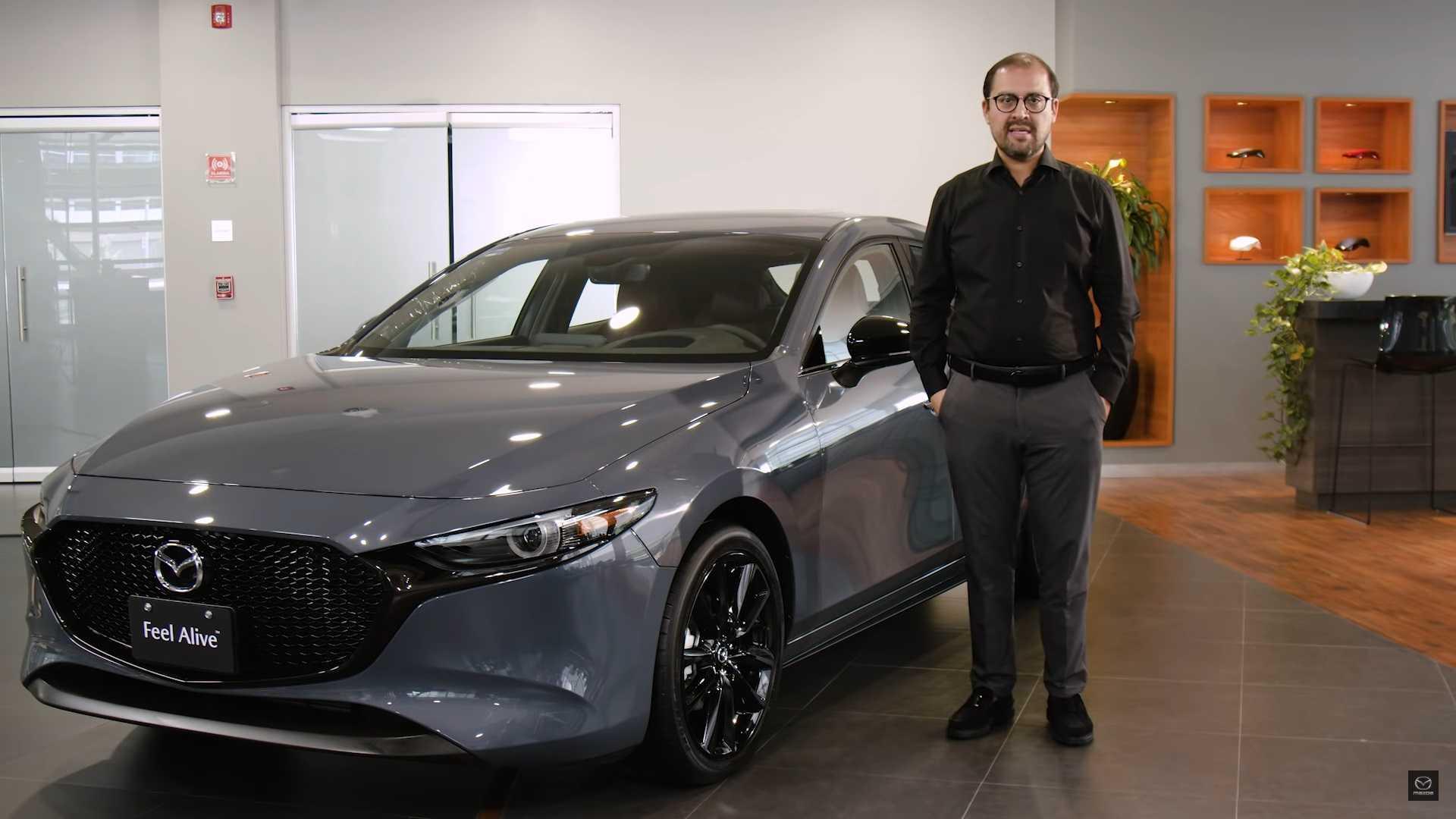 Mazda3 обзавелась турбомотором и полным приводом