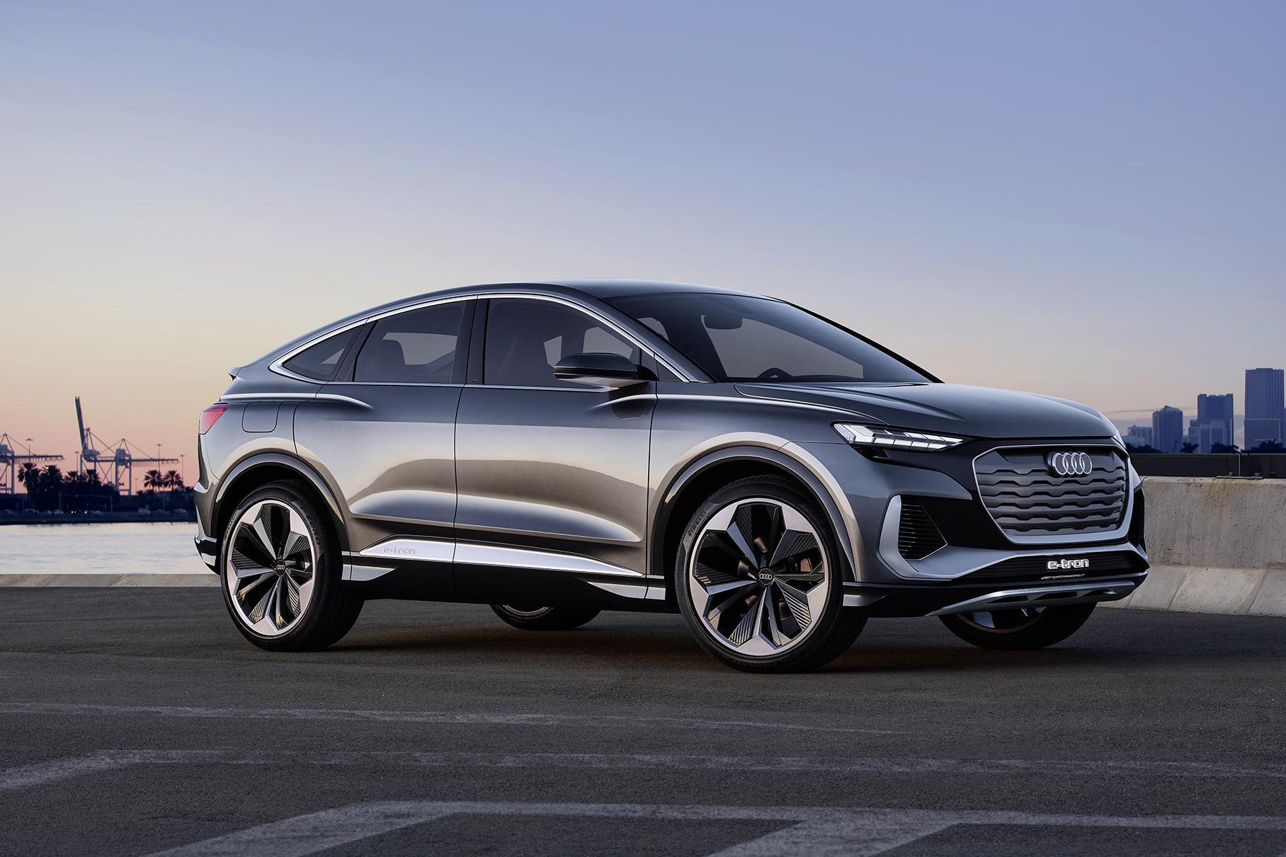 Компания Audi показала свой самый дешевый электромобиль (ФОТО)