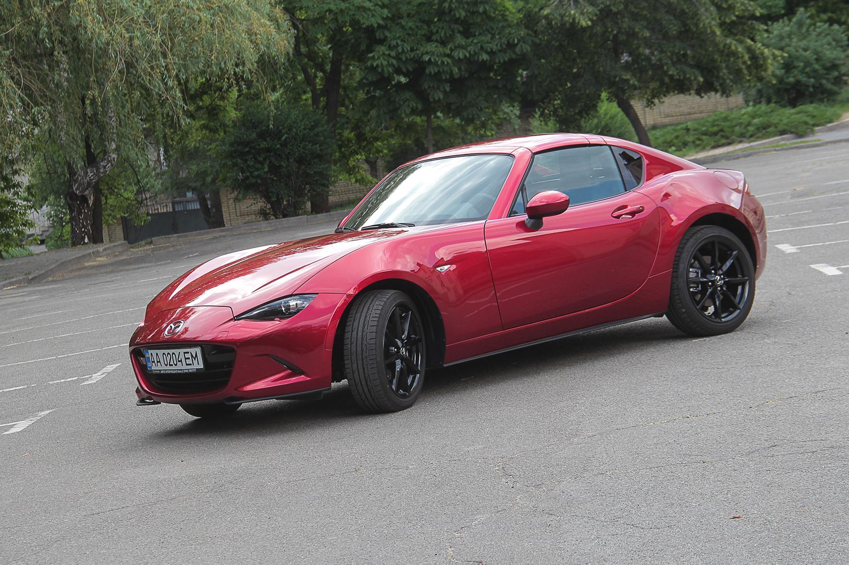 Тест-драйв Mazda MX-5 RF: праздник каждый день