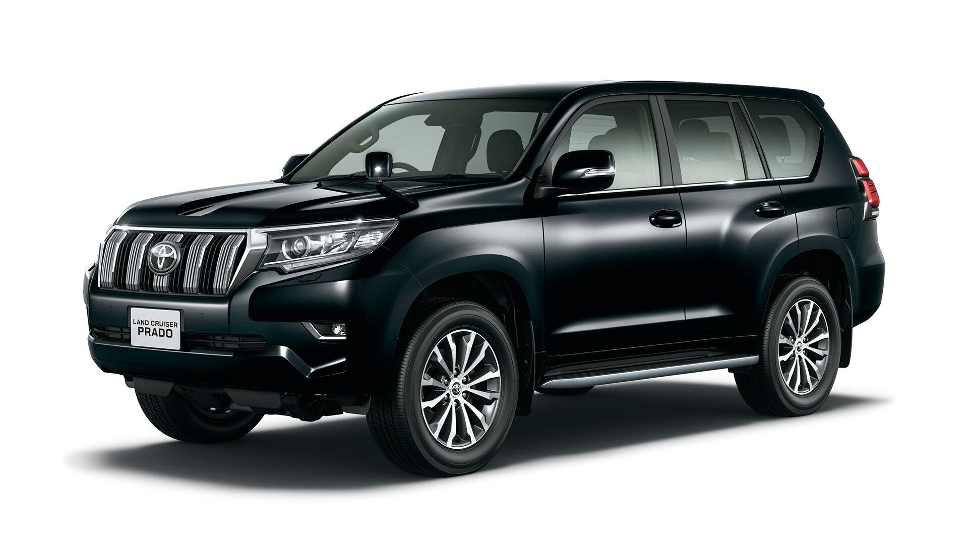 Новинка             Toyota показала обновленный Land Cruiser Prado
