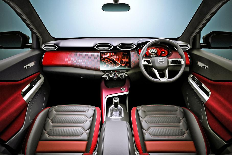 Новинка             Новый бюджетный кроссовер Nissan показали внутри