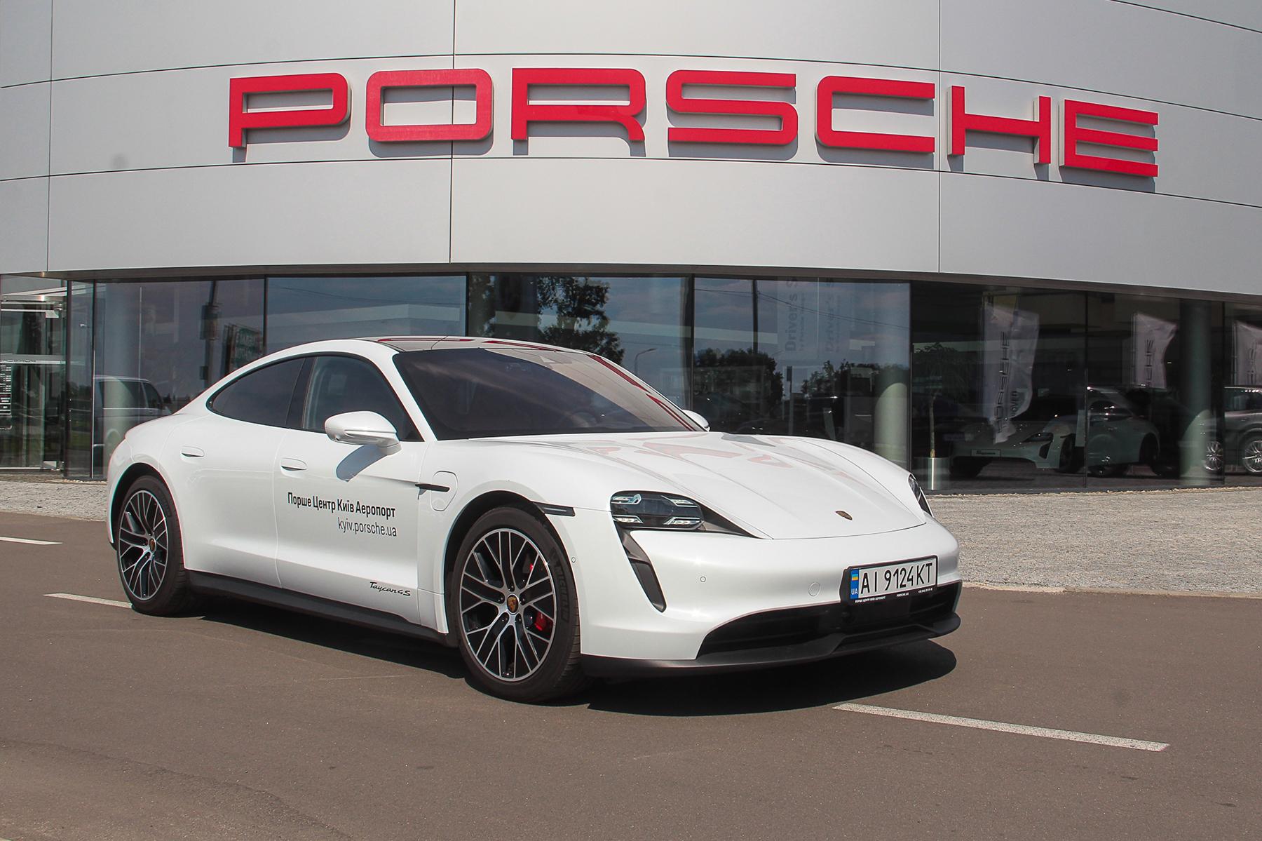 Тест-драйв Porsche Taycan: может ли спорткар быть электрическим?
