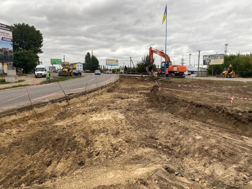 Ремонт дорог в Украине: в Белогородке появится новая кольцевая развязка