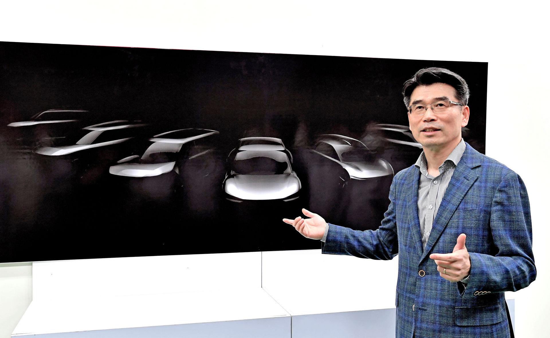 Новинка В Kia рассказали о семерке новых электромобилей и показали
