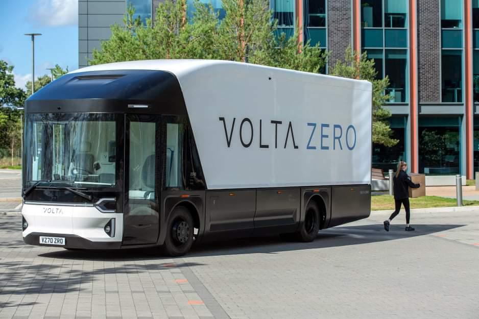 Презентован электрический грузовик Volta Zero