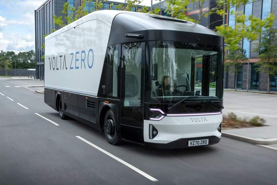 Революционный грузовик Volta Zero - новые данные и фото