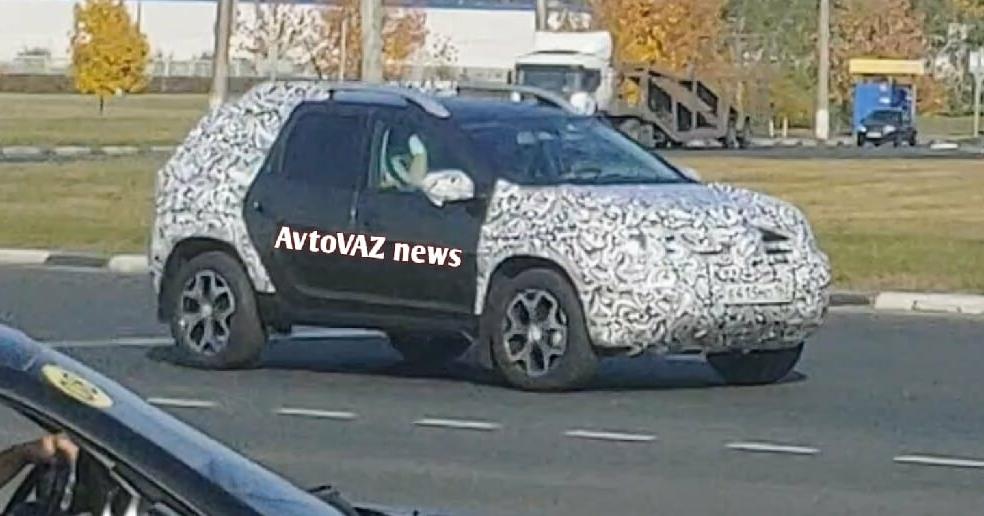 Новинка Новый Renault Duster 2021 уже выехал на дороги – живые