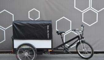 Украинский грузовой электробайк Delfast Trike вышел на рынок