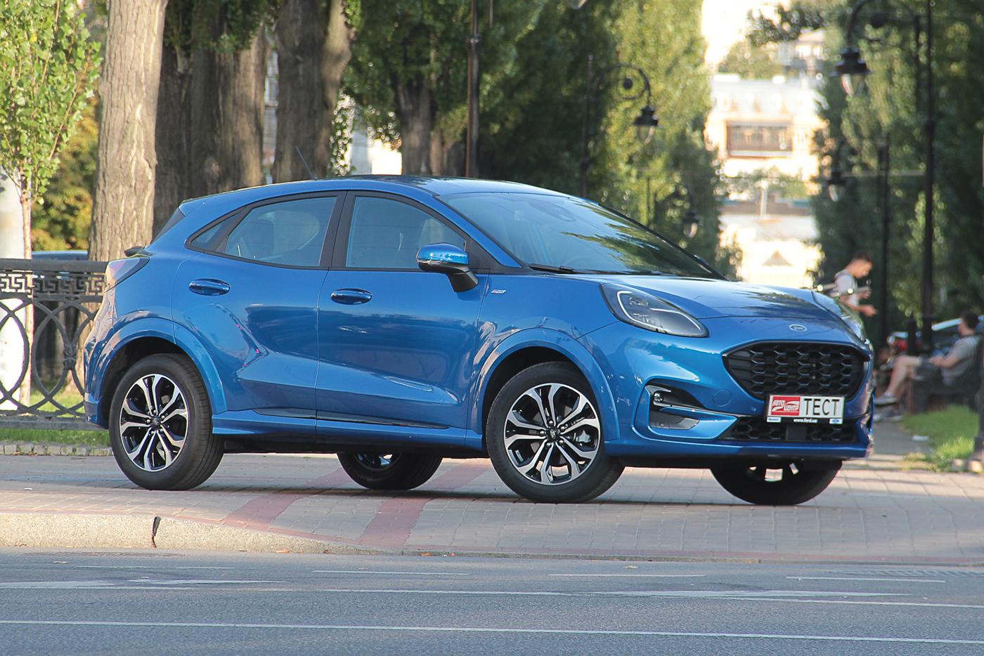 Тест-драйв Ford Puma: охота на конкурентов